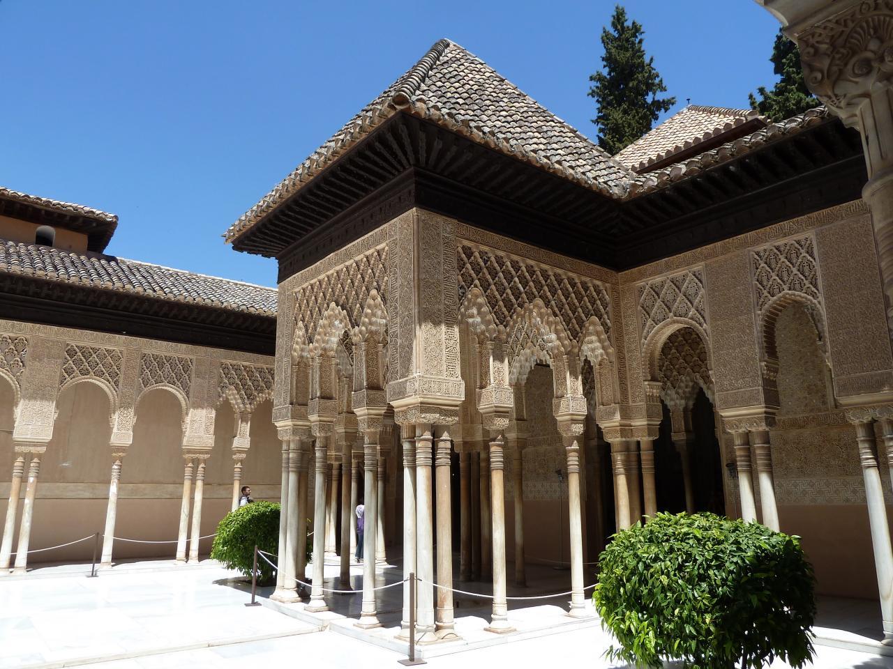 2014- ANDALOUSIE= Alhambra à Grenade