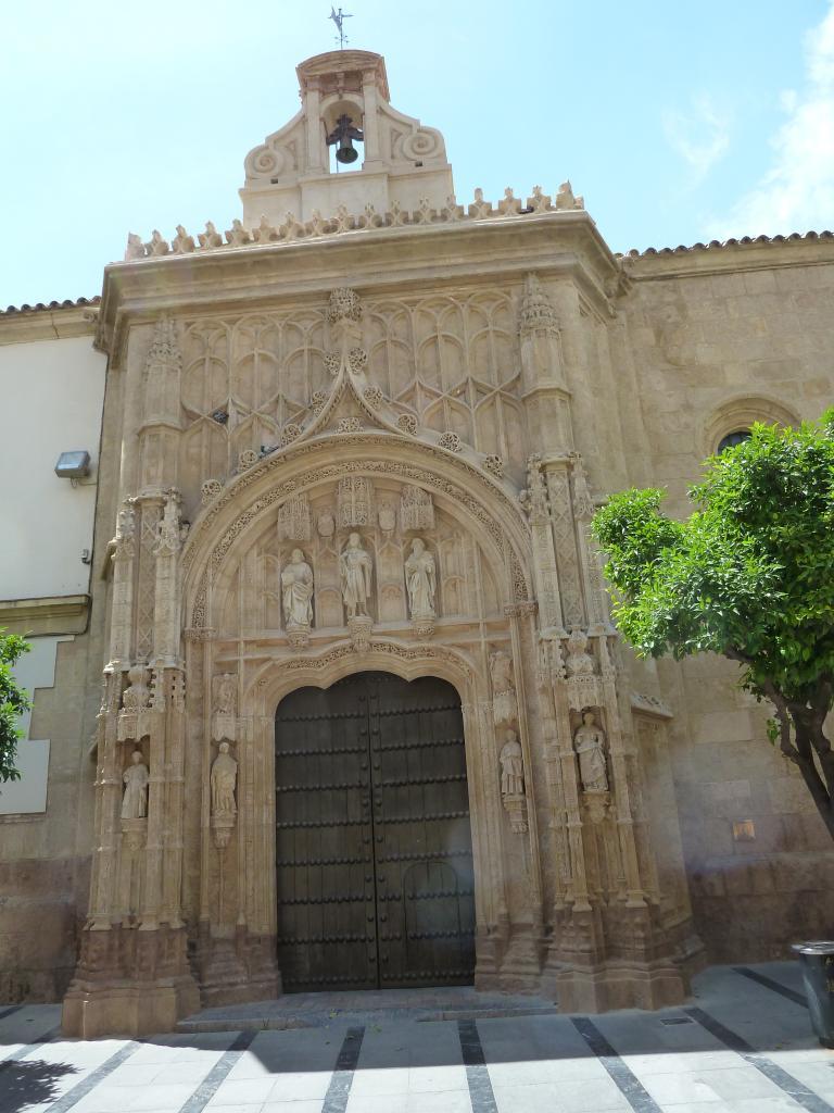 2014- ANDALOUSIE=Entrée moquée-cathédrale