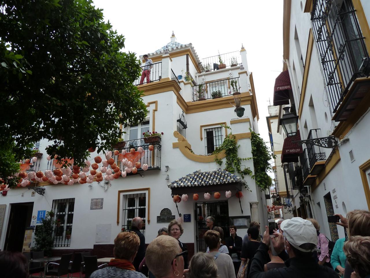 2014- ANDALOUSIE=quartier Santa-Cruz à Séville