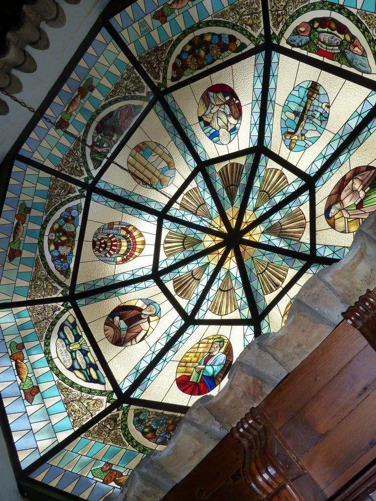 2014- ANDALOUSIE=toit du resto à Cordoue