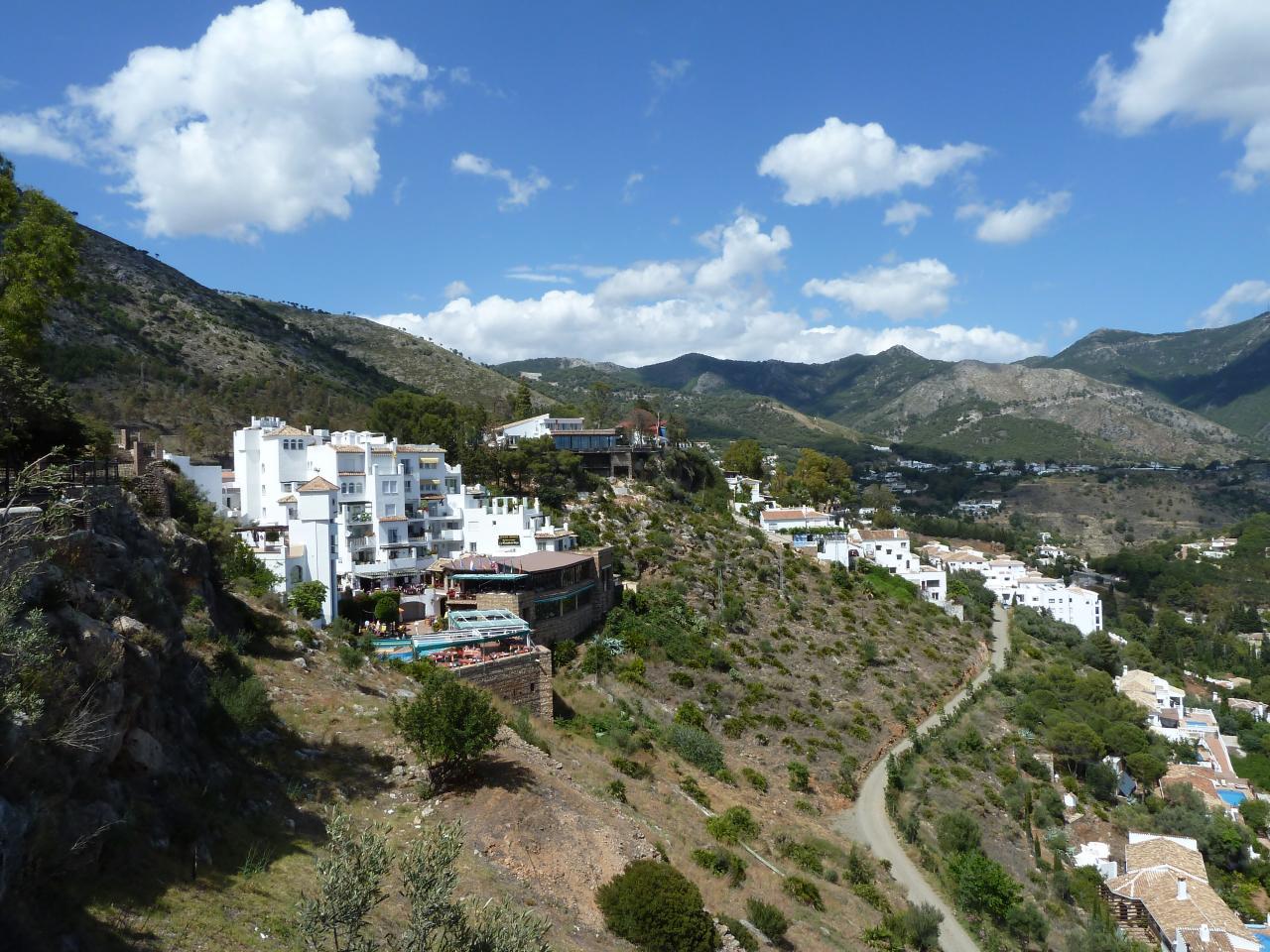 2014- ANDALOUSIE=vue de Mijas