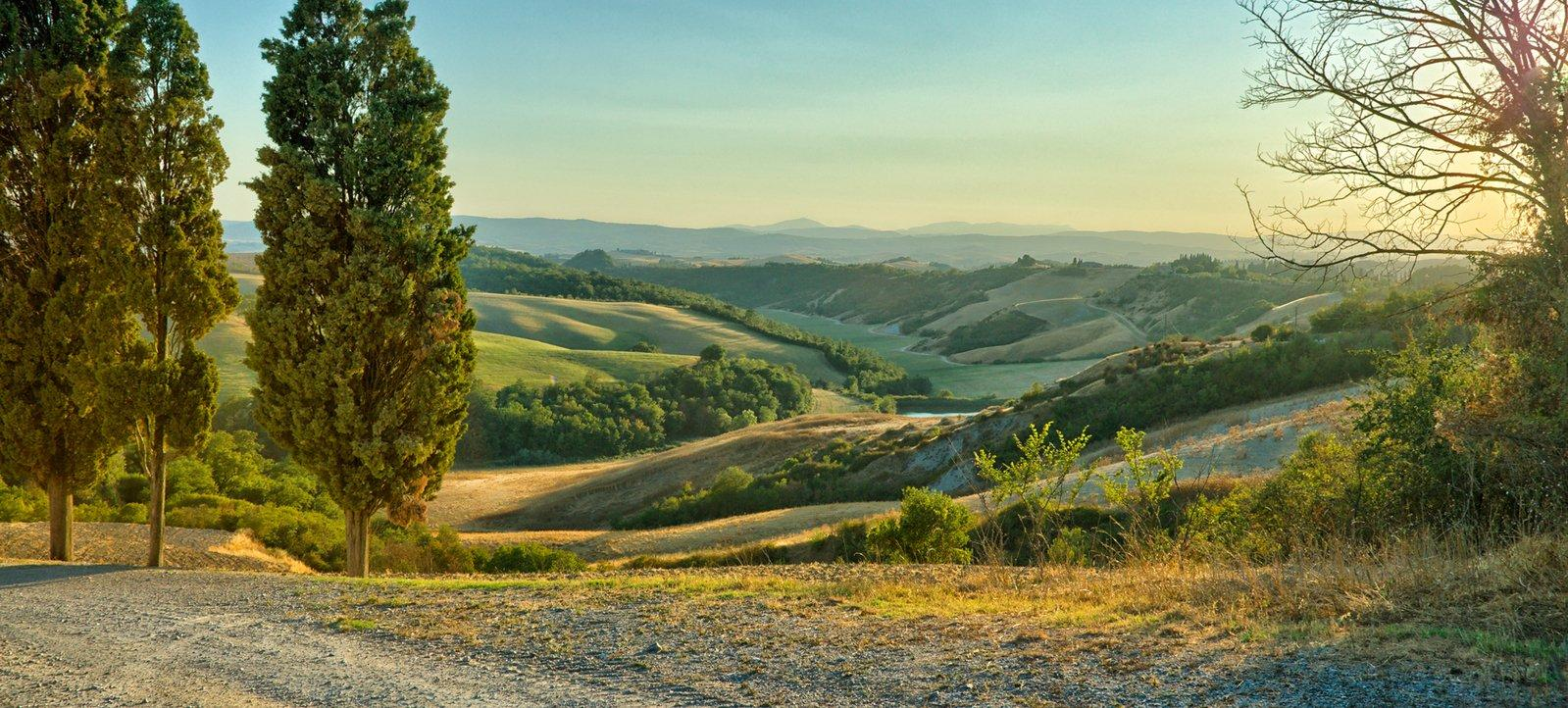 Rolling hills tuscany 1337320