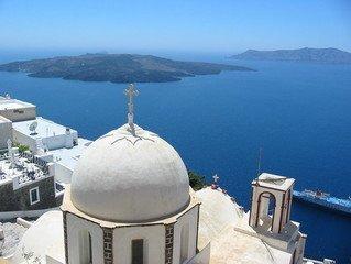 Santorini mediterranean church 1401549